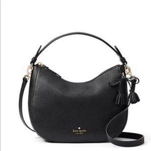 Kate Spade black pebble handbag.